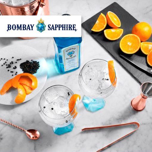 Clase de cocteleria Bombay
