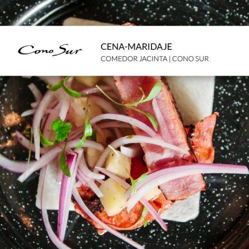 Cena maridaje club Maria Orsini